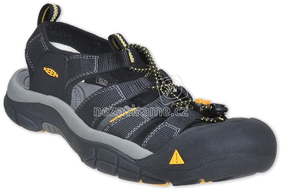 Pánské boty Keen Newport H2 Men black  5bec468db4