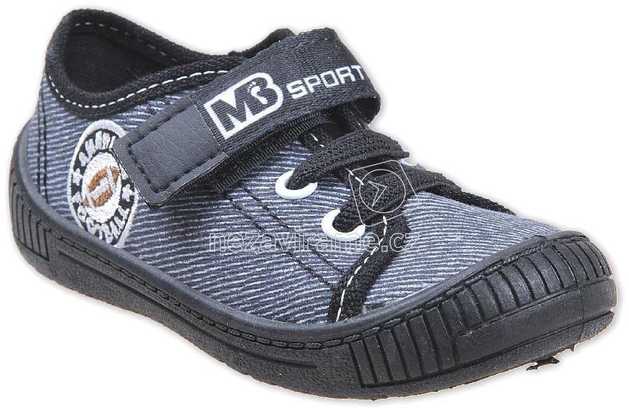 Gyerek tornacipő MB 3SK8 fekete