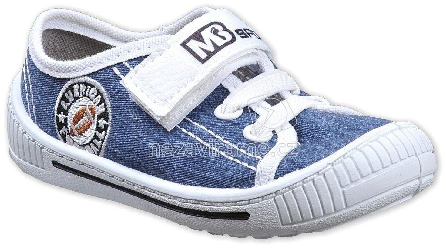 Detské tenisky MB 3SK8 modrá/jeans