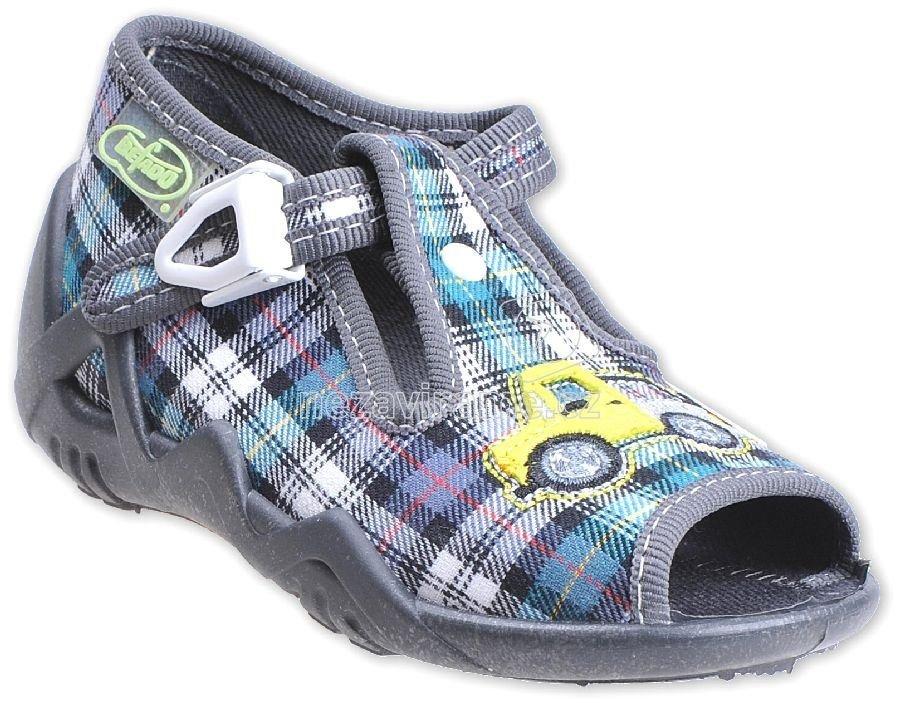 7fffd01e40 Detská domáca obuv Befado 217 P 064