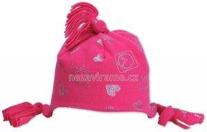 Detská zimná čapica Rockino 1562 růžová