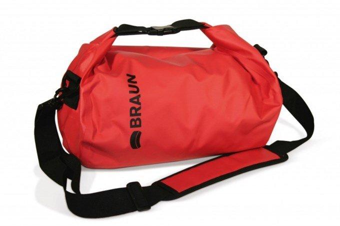 Vodotěsný vak Braun Splash, červený 21038900