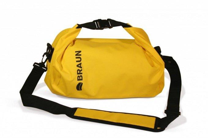 Vodotěsný vak Braun Splash, žlutý 21044500