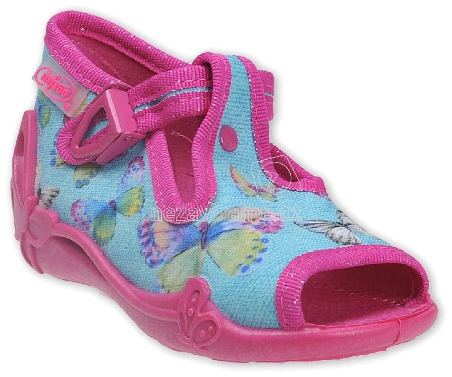 326b3a8e04f Dětská domácí obuv Befado 213 P 084