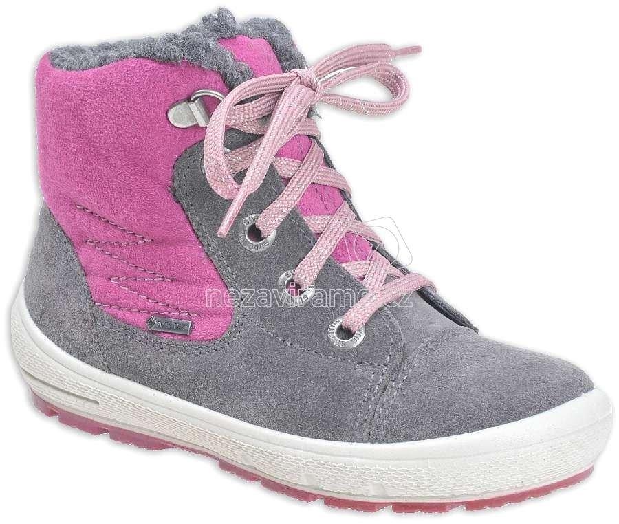 Dětské zimní boty Superfit 7-00310-06. Dostupné velikosti  30 4d612c560f
