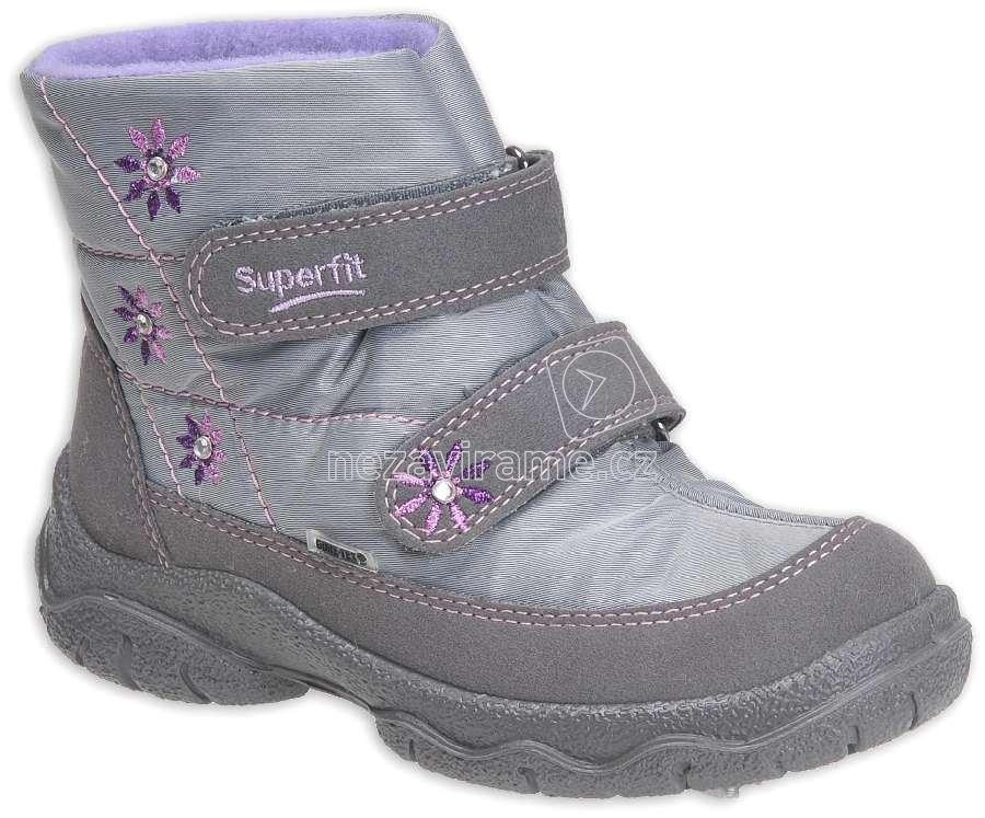 Dětské zimní boty Superfit 7-00094-17 d0e4a446c7