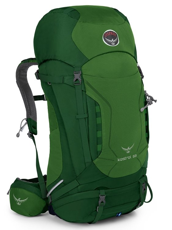 Osprey Kestrel 58 M/L (Jungle Green)