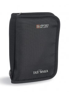 Peněženka Tatonka Travel Zip M RFID B (black)